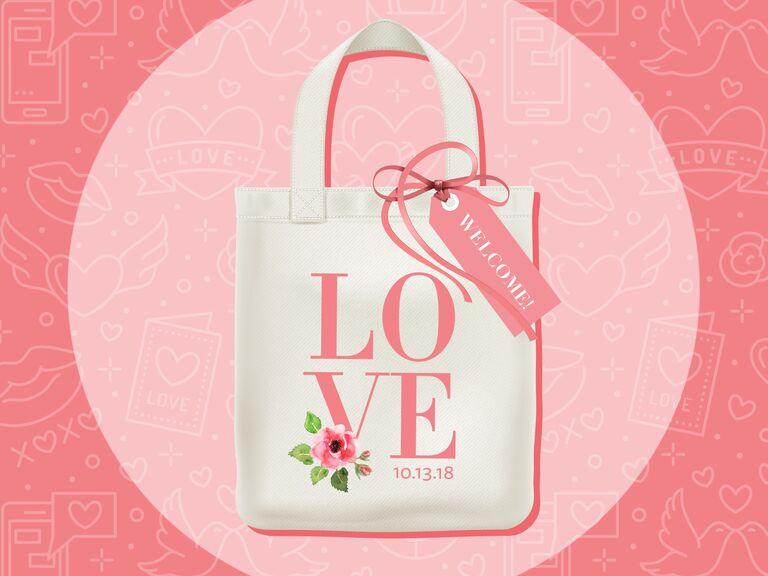 wedding welcome bag graphic