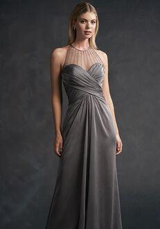 Belsoie Bridesmaids by Jasmine L194054 Illusion Bridesmaid Dress
