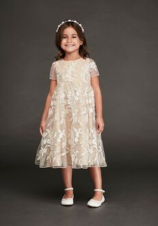 David's Bridal Flower Girl David's Bridal Style CR1394 Ivory Flower Girl Dress