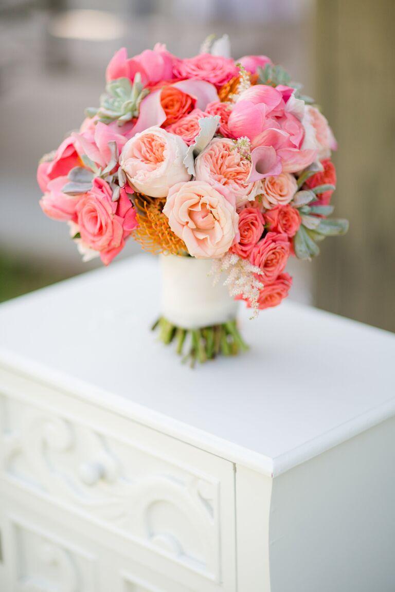 Bridal bouquet sizes