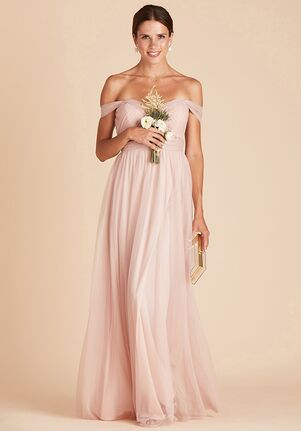 Birdy Grey Christina Convertible Dress in Vintage Blush Sweetheart Bridesmaid Dress