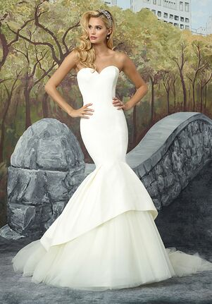 Justin Alexander 8933 Mermaid Wedding Dress