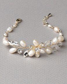 Dareth Colburn Delicate Freshwater Pearl Bracelet (JB-4824-G) Wedding Bracelet photo