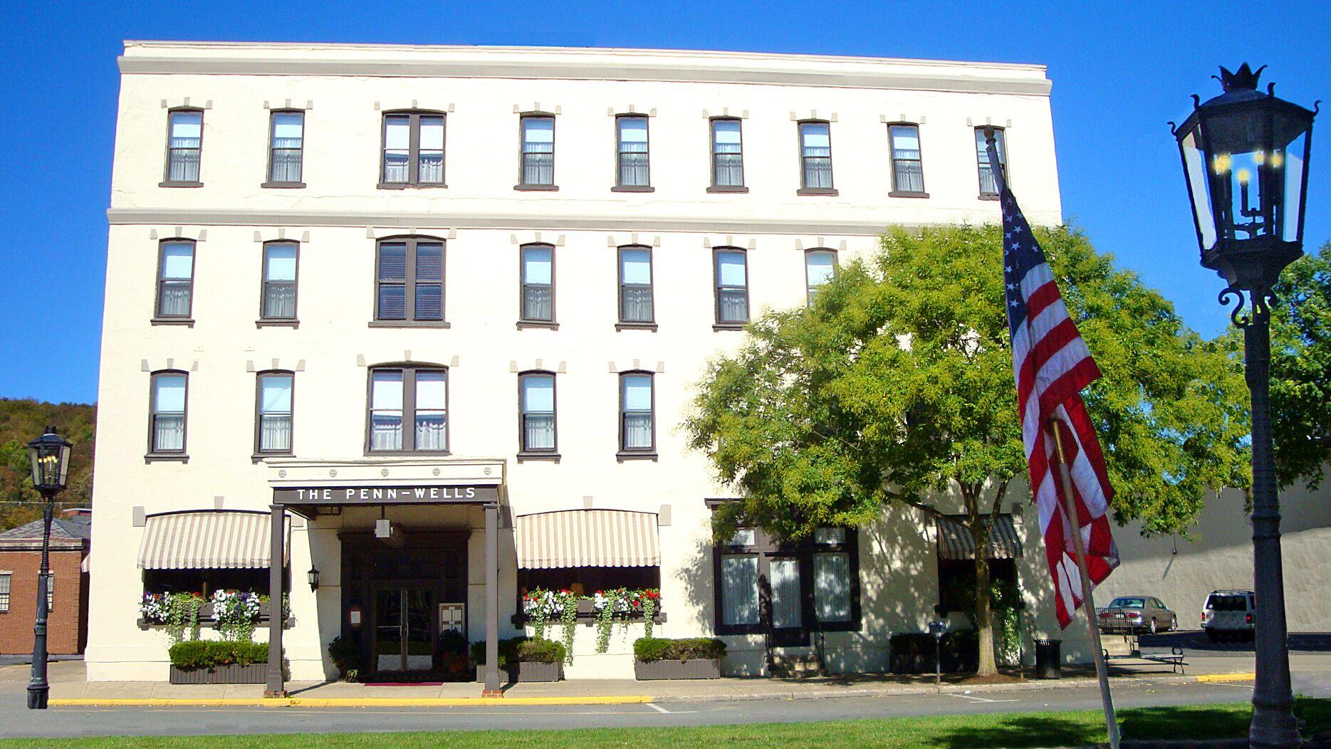 Penn Wells Hotel Amp Lodge Reception Venues Wellsboro Pa