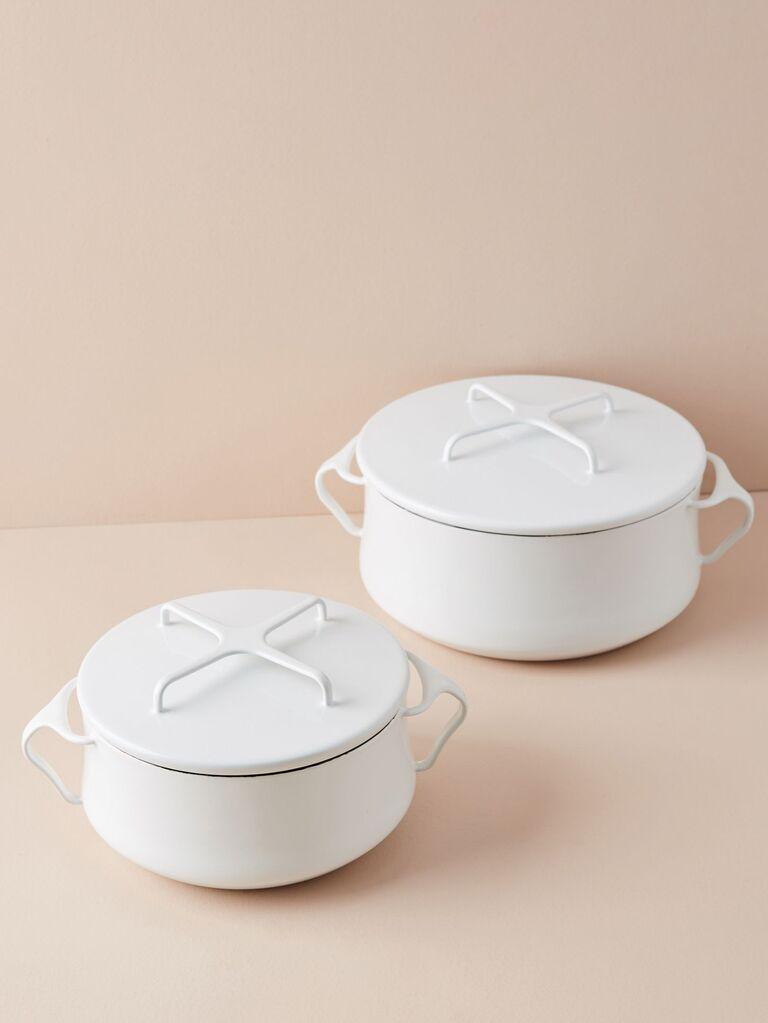 Anthropologie Dansk Kobenstyle Casserole Pot With Lid