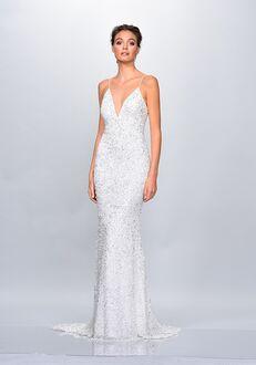 THEIA 890606 Sheath Wedding Dress