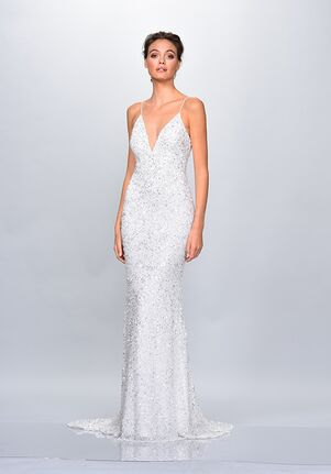 THEIA 890606 Sheath Wedding Dress