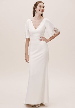 BHLDN Keely Gown Sheath Wedding Dress