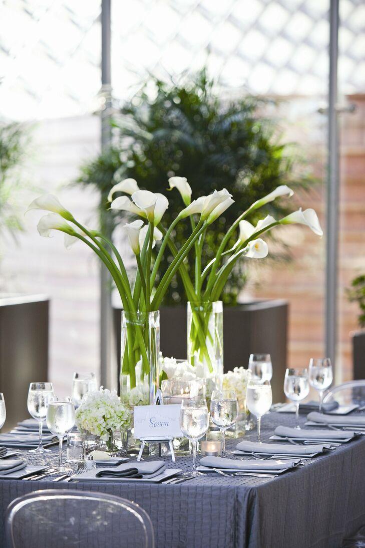 Brilliant Calla Lily And Hydrangea Centerpiece Download Free Architecture Designs Scobabritishbridgeorg