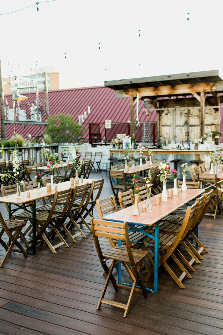 Laid-Back Plenty Mercantile Rooftop Reception