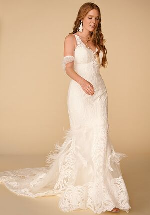 All Who Wander Rowen Sheath Wedding Dress