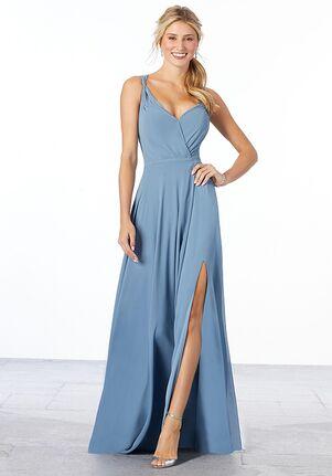 Morilee by Madeline Gardner Bridesmaids Style 21661 V-Neck Bridesmaid Dress