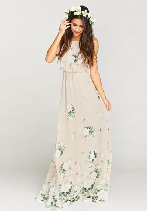 Show Me Your Mumu Amanda Maxi Dress Bouquet Toss Bridesmaid Dress
