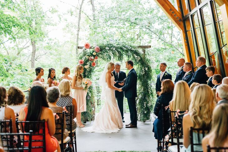 Bissell Tree House Terrace Ceremony