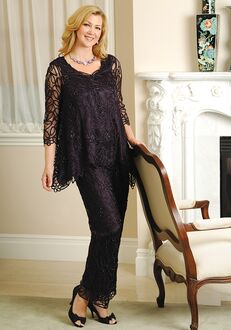 Soulmates C8057 Black Mother Of The Bride Dress