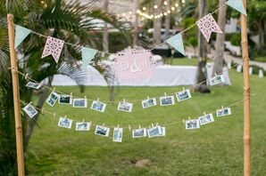 Mexican-Inspired Paper Photo Display