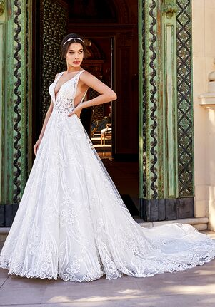Val Stefani LUCIANA A-Line Wedding Dress