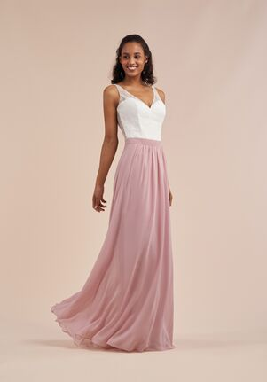 B2 Bridesmaids by Jasmine B213060 V-Neck Bridesmaid Dress