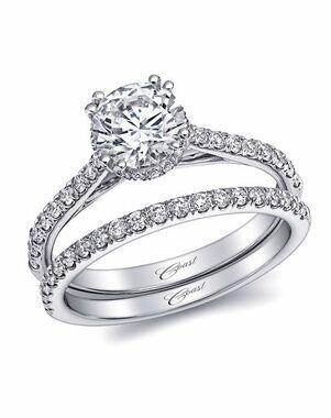 Coast Diamond Charisma Collection - LC5466 & WC5466 White Gold Wedding Ring
