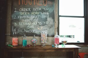 Beer Station and Candy Bar