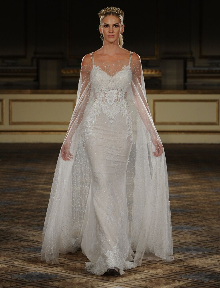 Berta Fall 2016 Collection: Bridal Fashion Week Photos