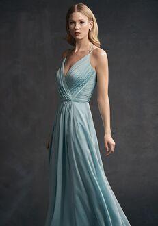 Belsoie Bridesmaids by Jasmine L194051 V-Neck Bridesmaid Dress