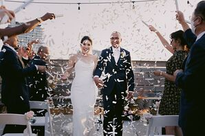Confetti Recessional at Dobin St. in Brooklyn, New York