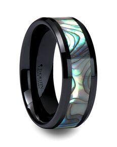 Mens Tungsten Wedding Bands C770-MOPC Tungsten Wedding Ring