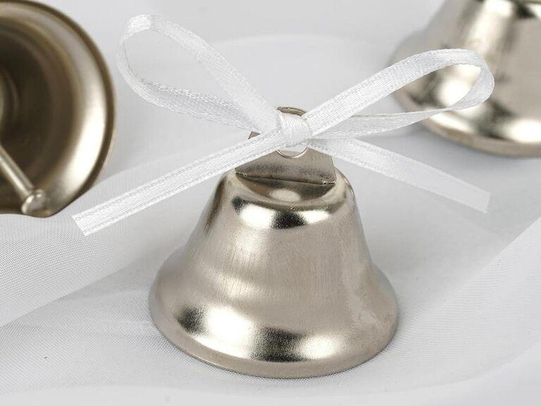 Kissing bells cheap wedding favors