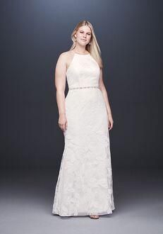 David's Bridal DB STUDIO Style 9SDWG0686 Sheath Wedding Dress