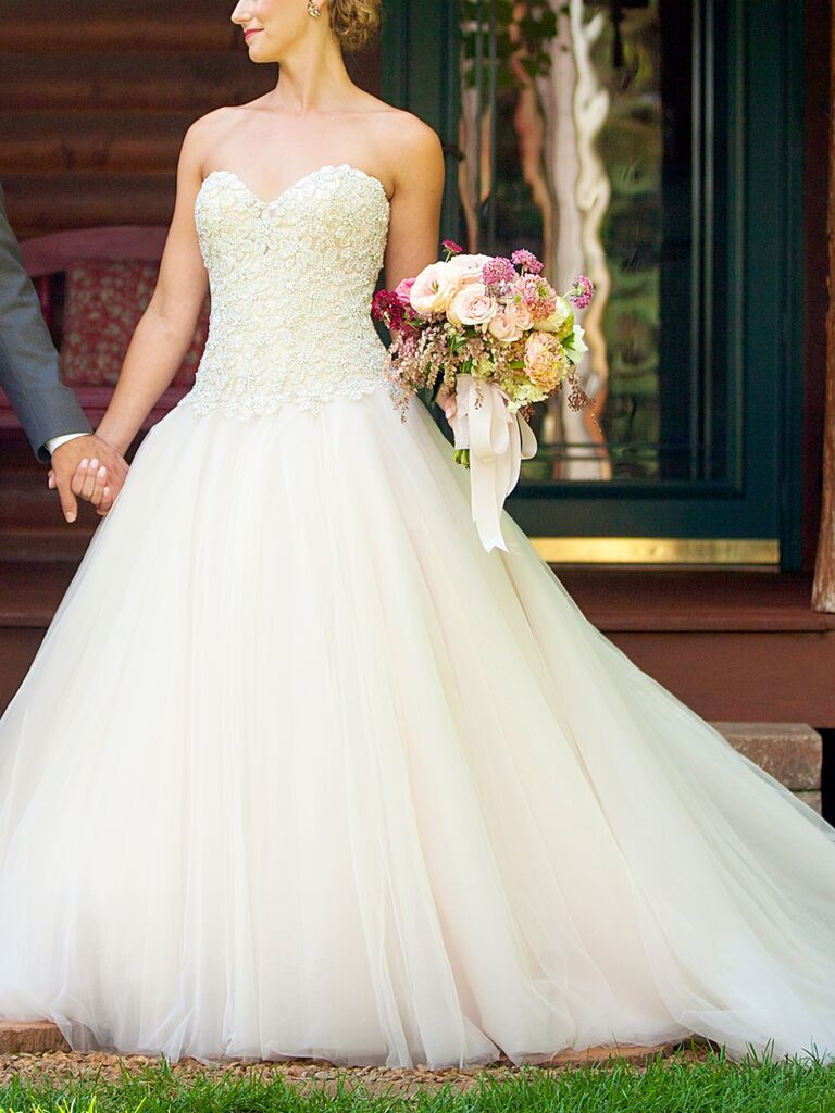 25 Princess Wedding Gowns With Beading Crystals And Embellishments