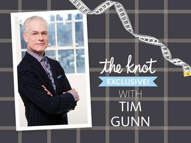 Tim Gunn wedding styling tips