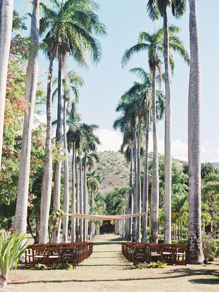Dillingham Ranch Hawaii Destination Wedding