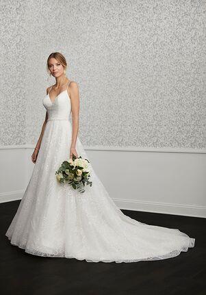 Adrianna Papell Platinum 31124 A-Line Wedding Dress