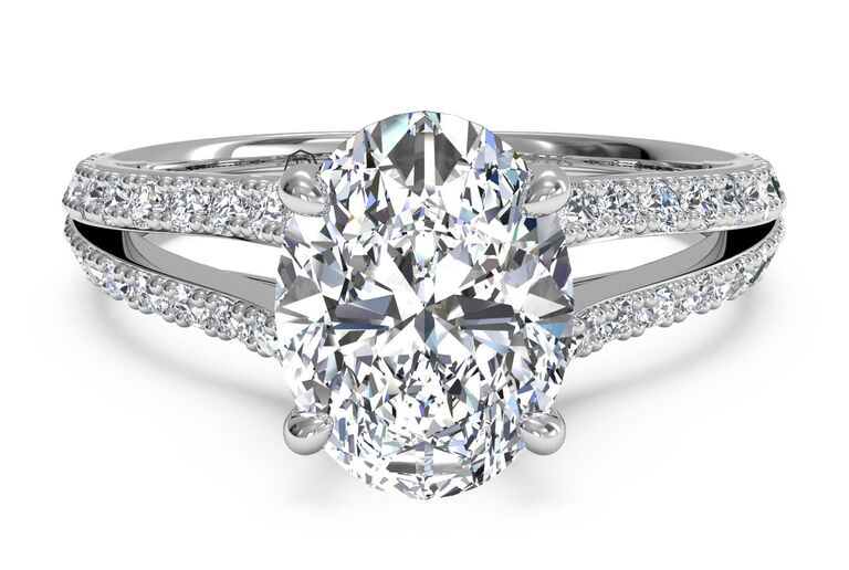 Oval Engagement Ring ritani