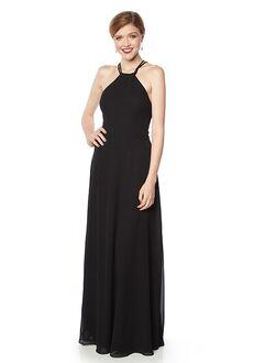 #LEVKOFF 7131 Halter Bridesmaid Dress