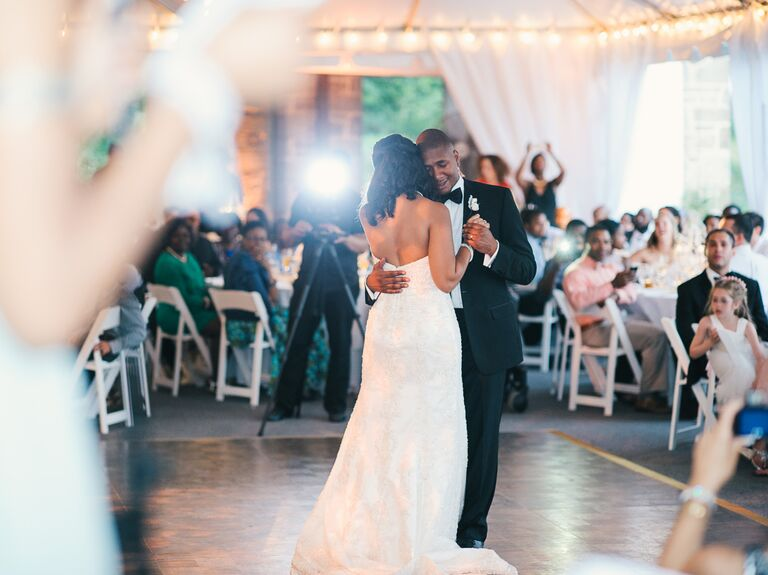Having Their First Dance