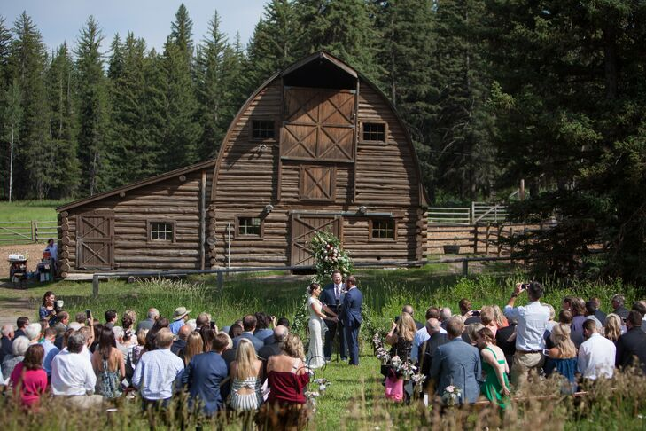 Historic Barn Ceremony Backdrop