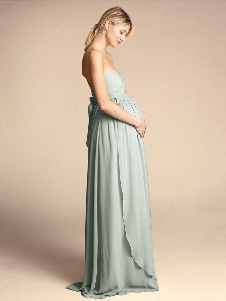 Maternity Bridesmaid Dresses For Your Pregnant Bridesmaids