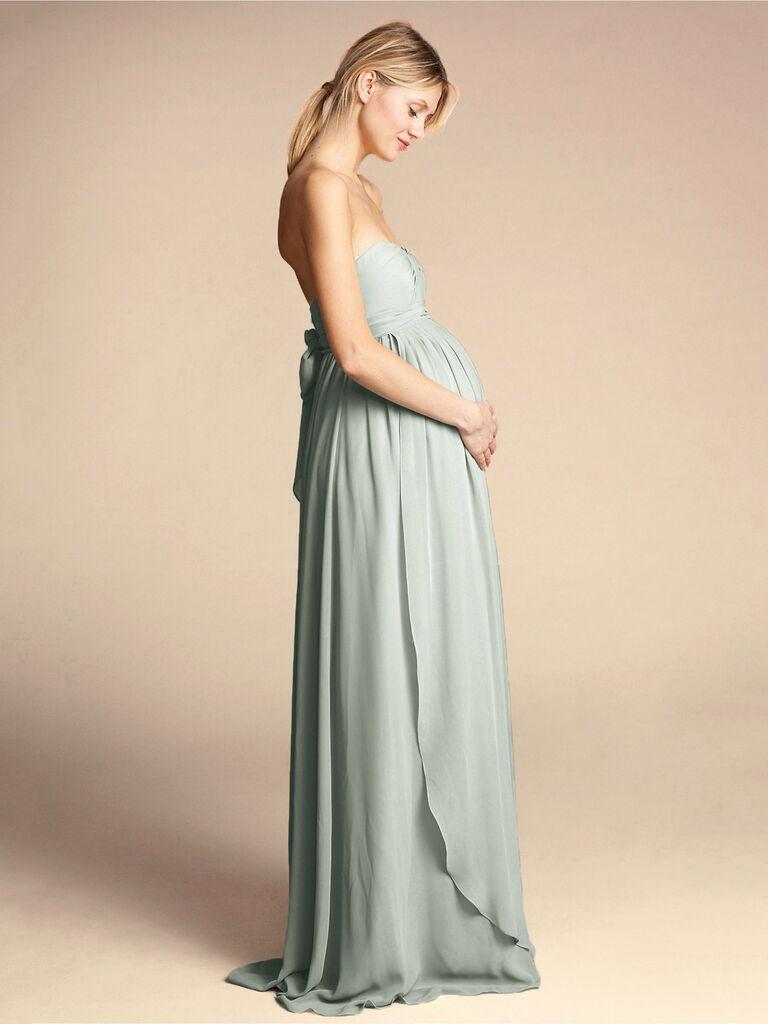 bridesmaid maternity dresses