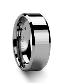 Mens Tungsten Wedding Bands W273-RFB Tungsten Wedding Ring