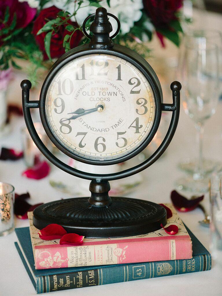 'Alice In Wonderland' wedding centerpiece