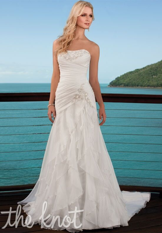 Ella bridals 5500 wedding dress the knot for Wedding registry the knot