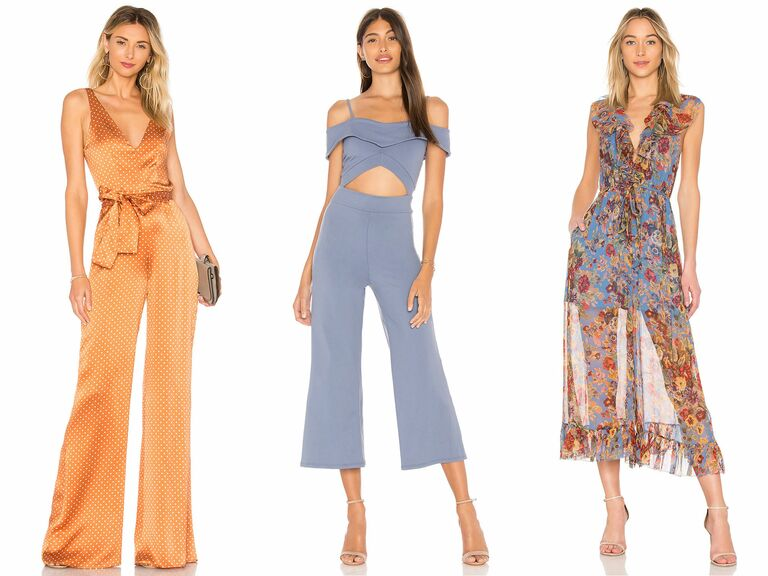 Attending a wedding and not sure if you want to wear a dress  You totally  don t have to—consider a jumpsuit as an alternative. The beauty in a  jumpsuit is ... e937990a9