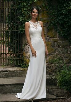 Sincerity Bridal 44048 Sheath Wedding Dress