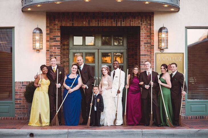 Harry Potter Wedding Ideas That Are Totally Reception-Worthy