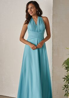 JASMINE P206005 Halter Bridesmaid Dress