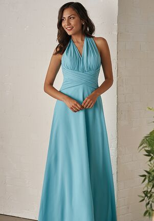 JASMINE P206005 Halter Bridesmaid Dress