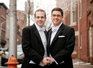 Sam Aronson (29, university dean) and George Cooper (29, computer programmer) met at Union Station in Washington, D.C. in the fall of 2006. They dated