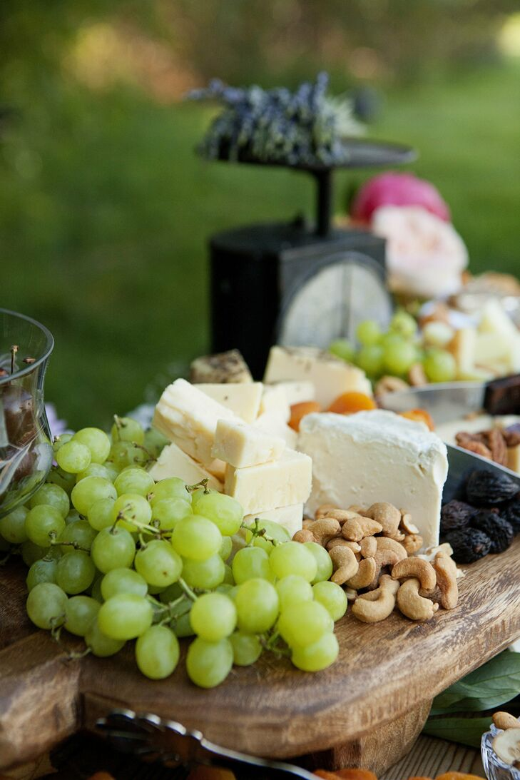 Cheese, Fruit and Nuts